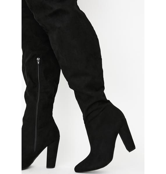 Tragic Fatal Revolution Thigh High Boots