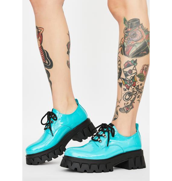 Koi Footwear Mensis Patent Oxfords