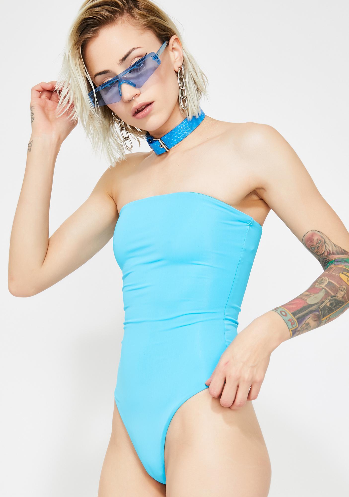 Merbae Sugar Highz Strapless Bodysuit
