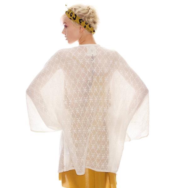 One Teaspoon Whisperer Crochet Kimono