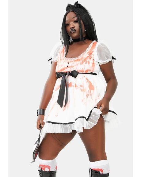Her Spirit Possessed Doll Costume