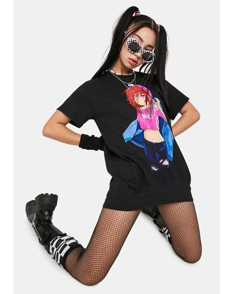 Becky Jacket Graphic Tee