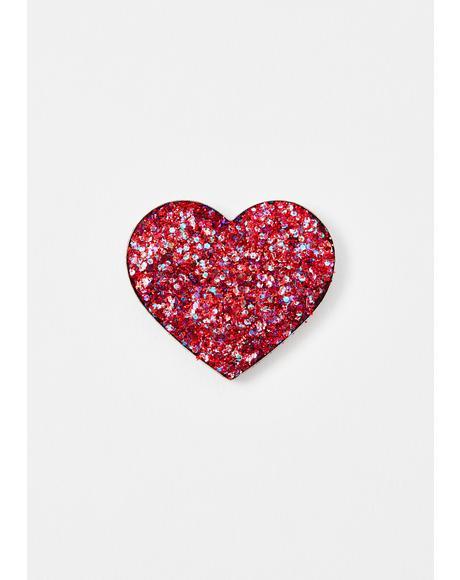 Love 6 Pressed Glitter