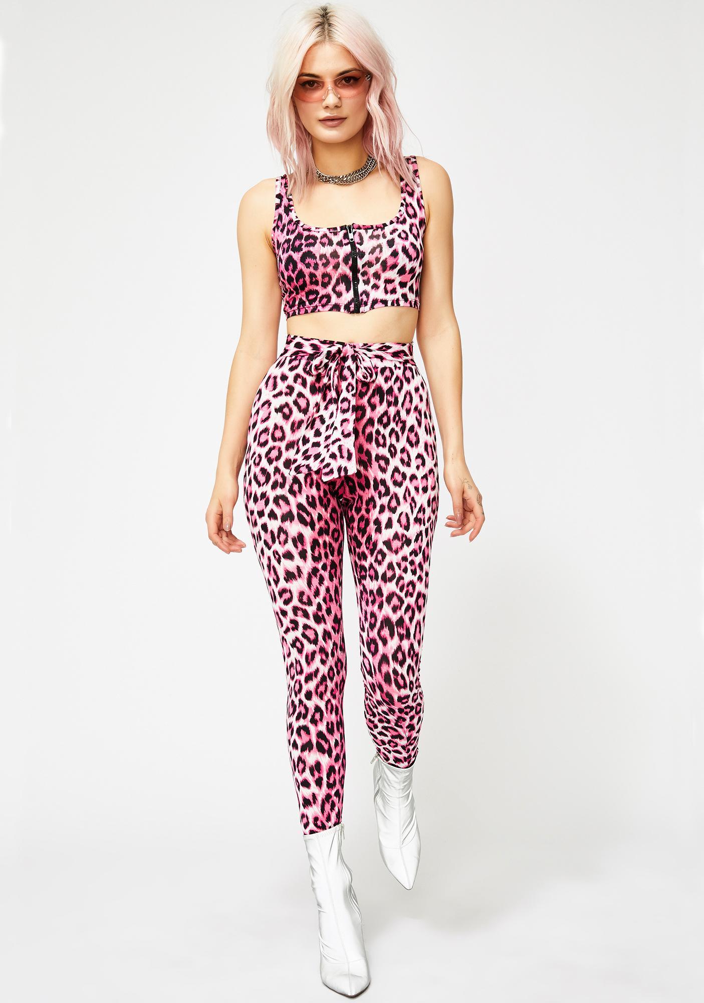 Electrik Kitty Leopard Set