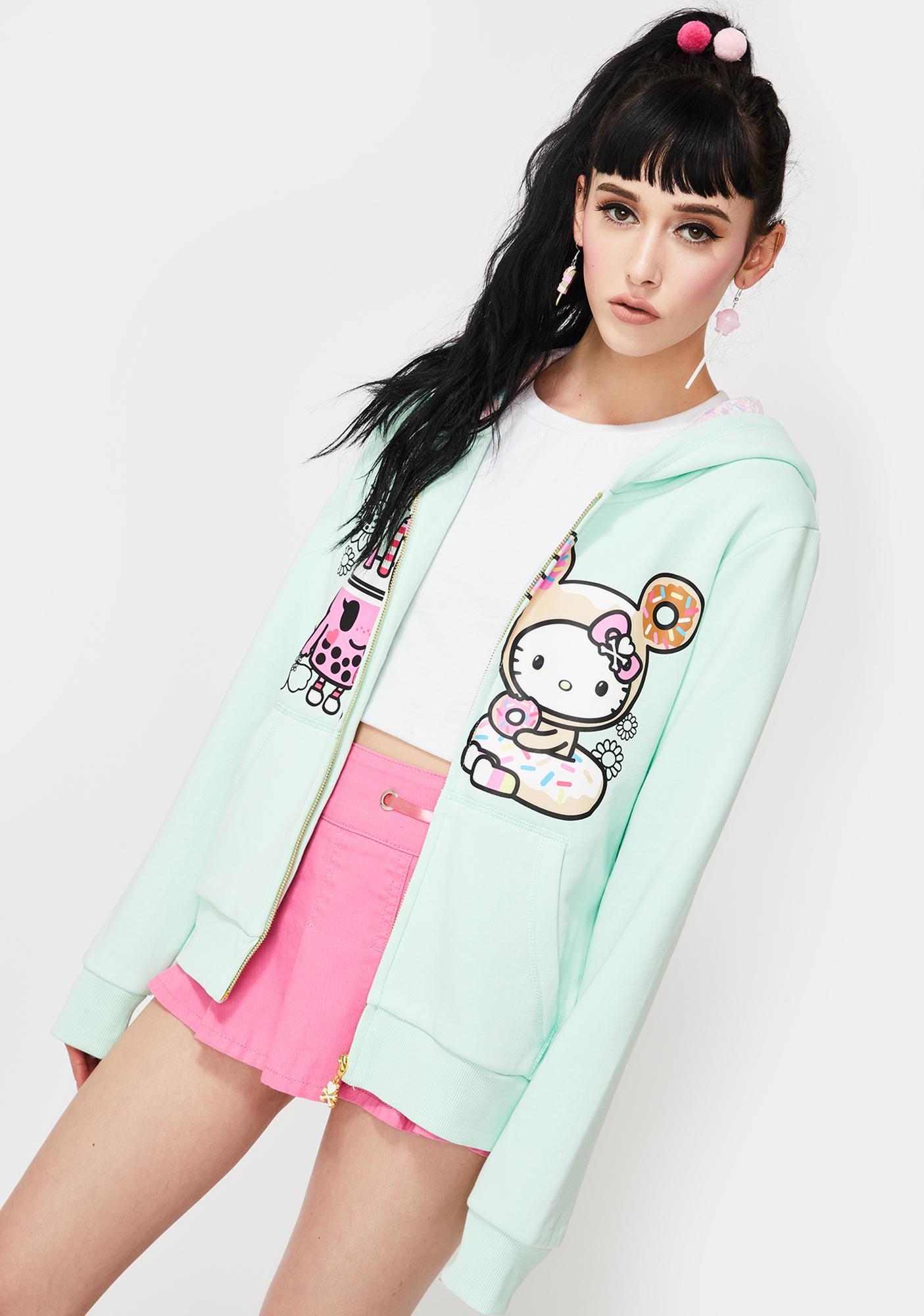NEW Cool Baby Goth Punk Black white Yellow Pink tokidoki style T-shirt Top Gift