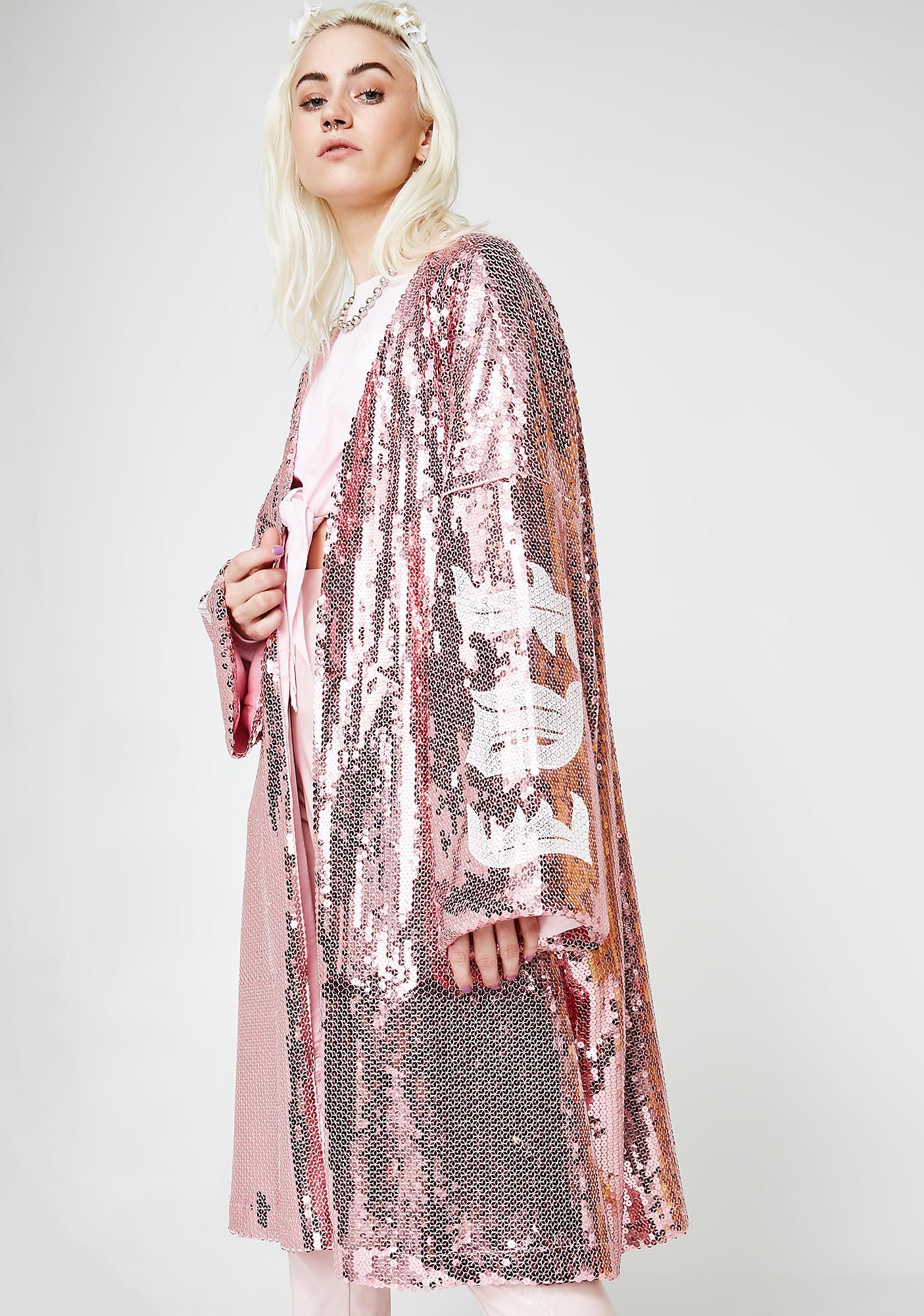Fille de Joie Sequin Kimono