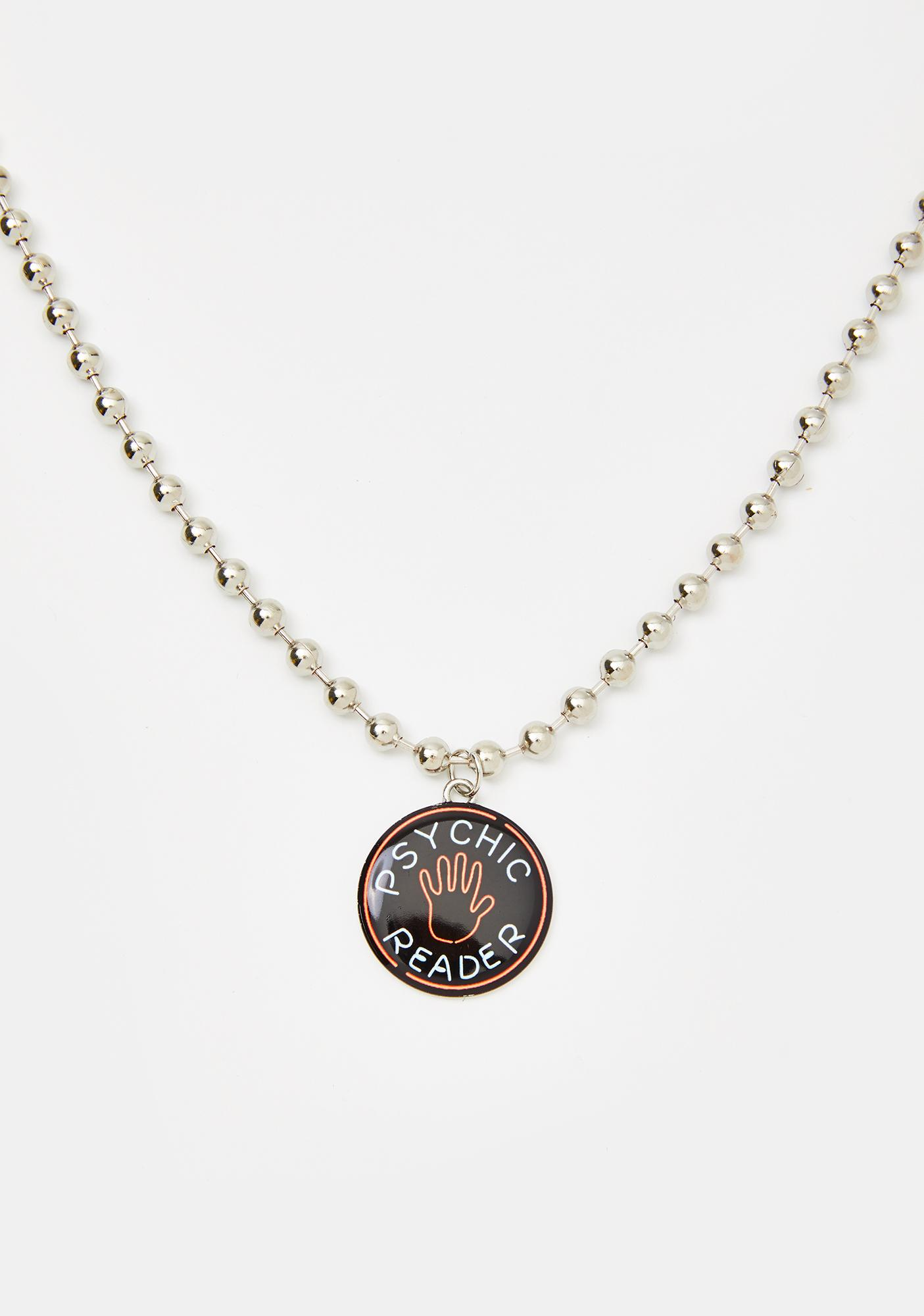 Fate Line Coin Necklace
