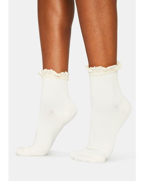 Beloved Waffle Knit Socks