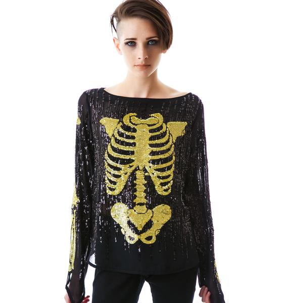 Wildfox Couture Super Model Out All Night Top