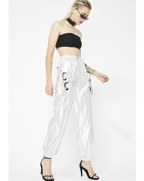 In My Element Metallic Pants