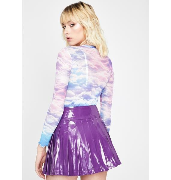 Fairy Going Rogue Pleated Skirt