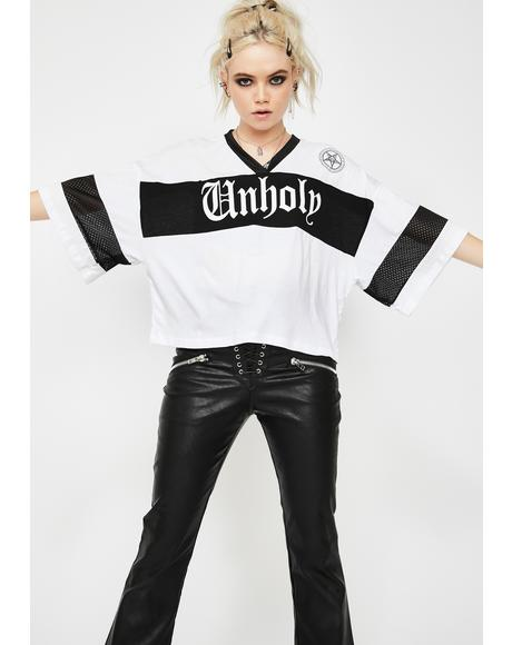 Unholy Cropped Jersey