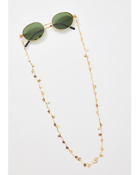 Contagious Smile Sunglasses Chain