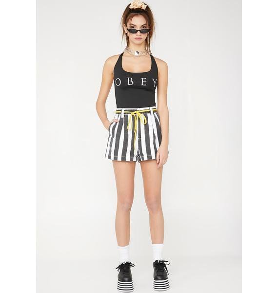 Obey Novel OBEY One Piece Swimsuit