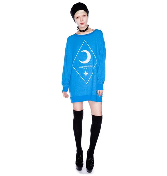 Wildfox Couture Moon Potion Roadtrip Sweater Dress