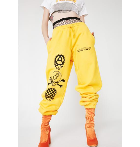 Pleasures Dead Crew Premium Sweatpants