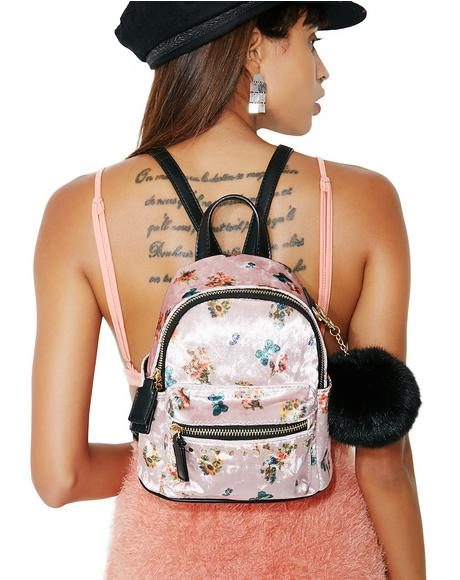 Dani Floral Mini Backpack