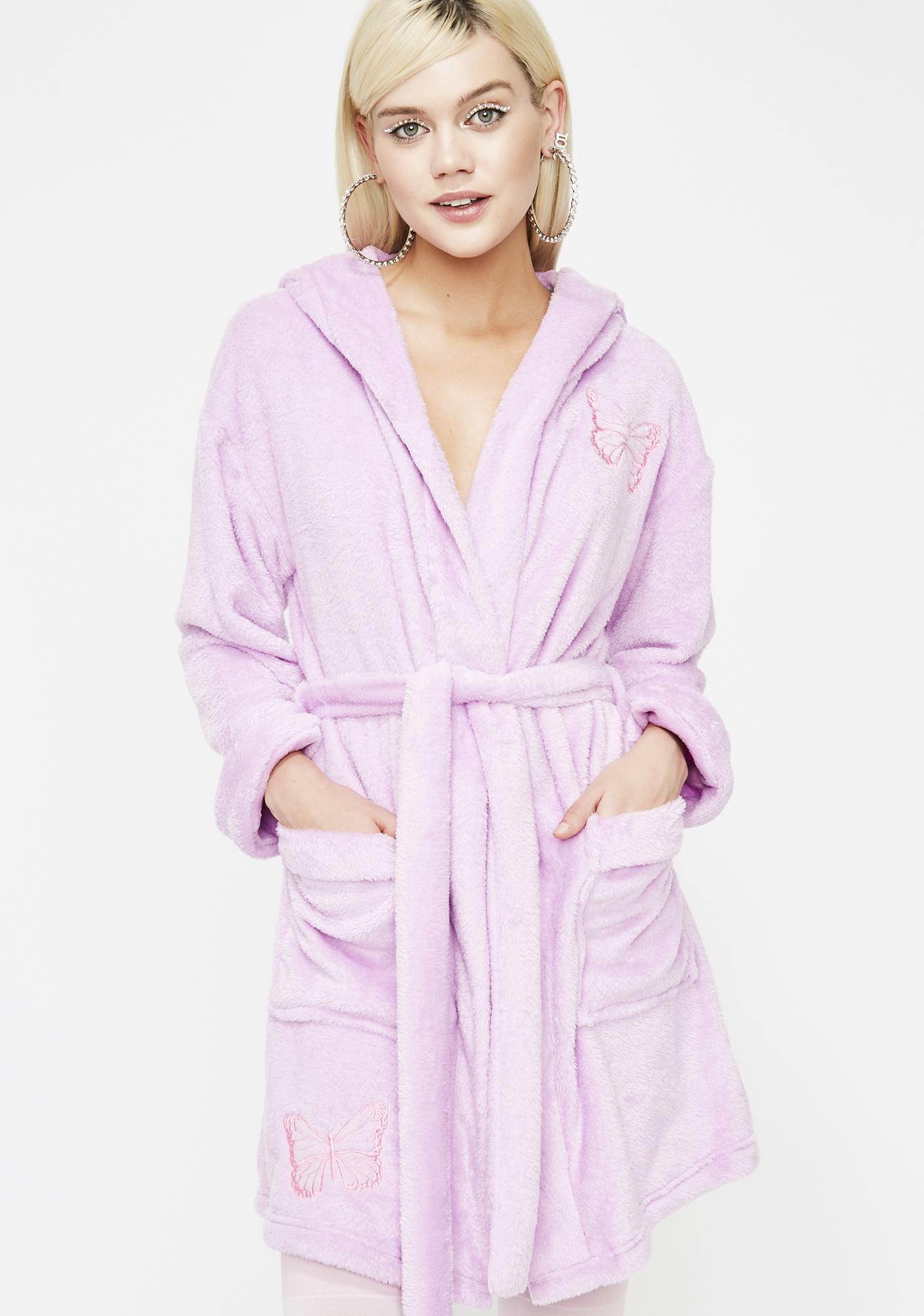 Sugar Thrillz Cotton Candy Dreamz Robe