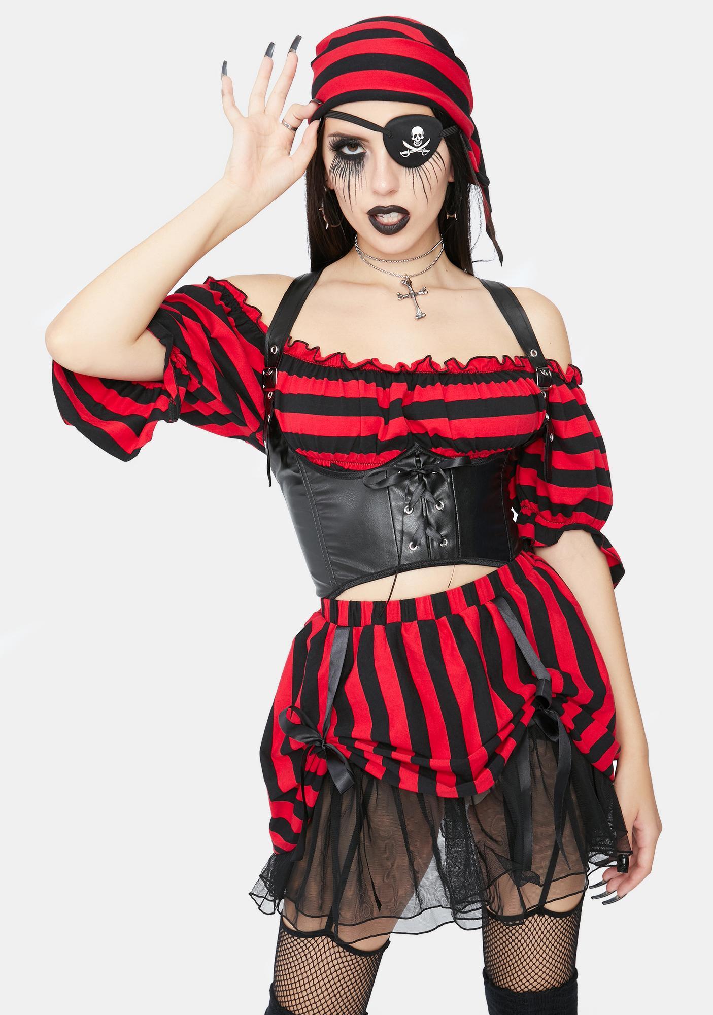 Trickz & Treatz Shiver Me Timbers Pirate Costume