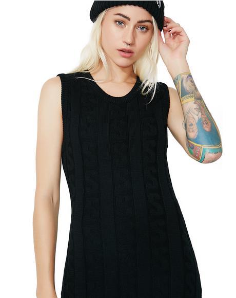 Strand Chain Dress