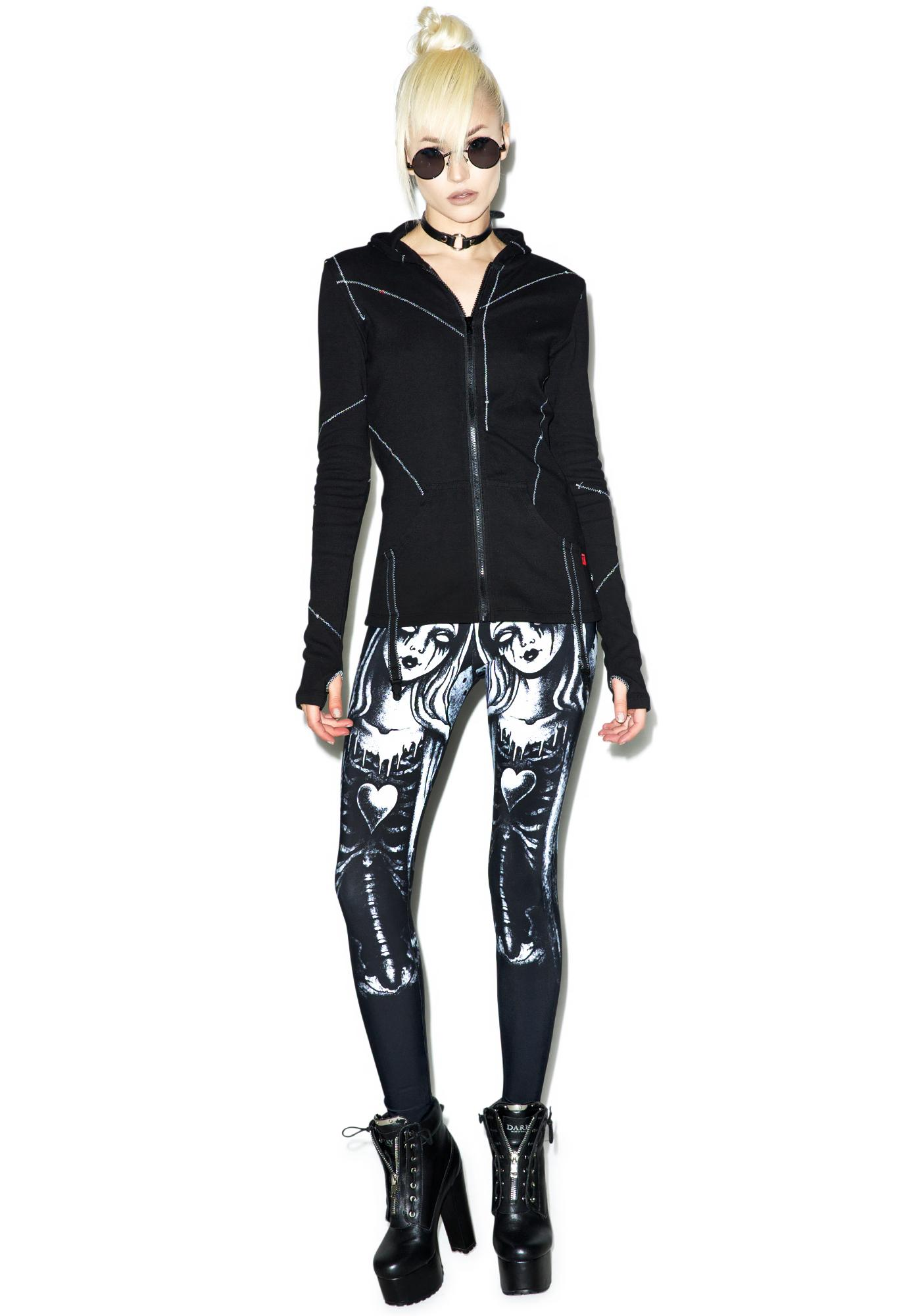Too Fast Zombie Mary Leggings