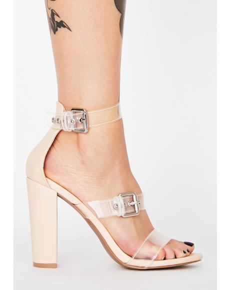 Bubbly Always Stuntin' PVC Heels