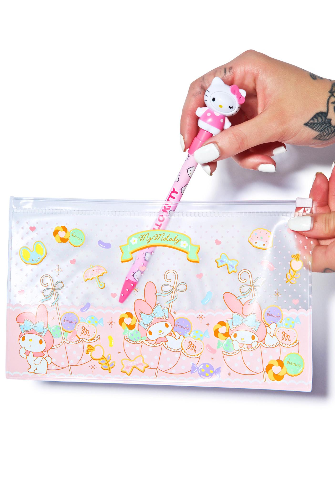 Sanrio My Melody Clear Zip Pouch
