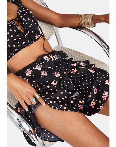 Camellia Mini Skirt