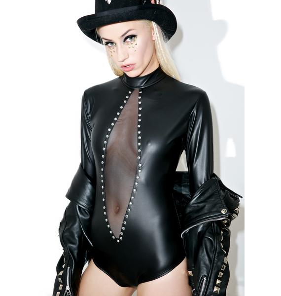 Lost Cause Studded Bodysuit