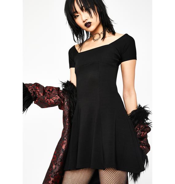 Current Mood Self-Indulgence Slinky Dress