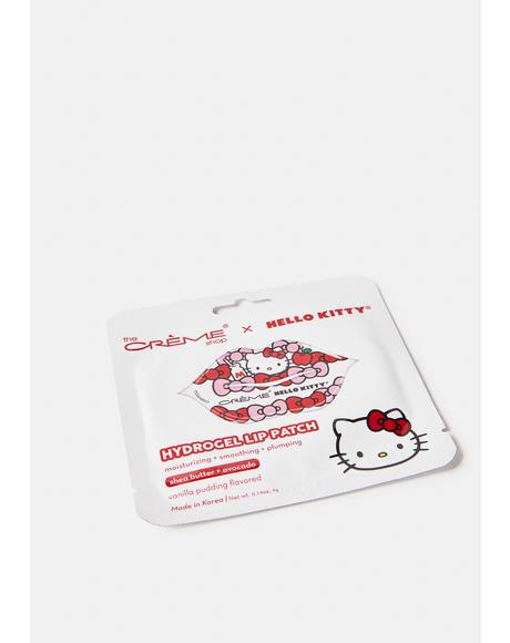 Hello Kitty Vanilla Pudding Hydrogel Lip Patch