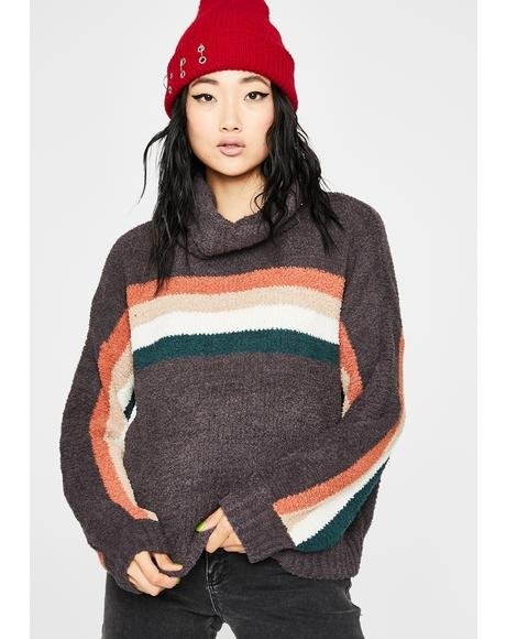 Dark Toxic Trait Stripe Sweater