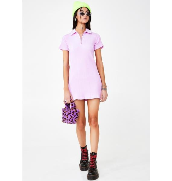 We Want Why Not Us Cherry Pink Tennis Dress