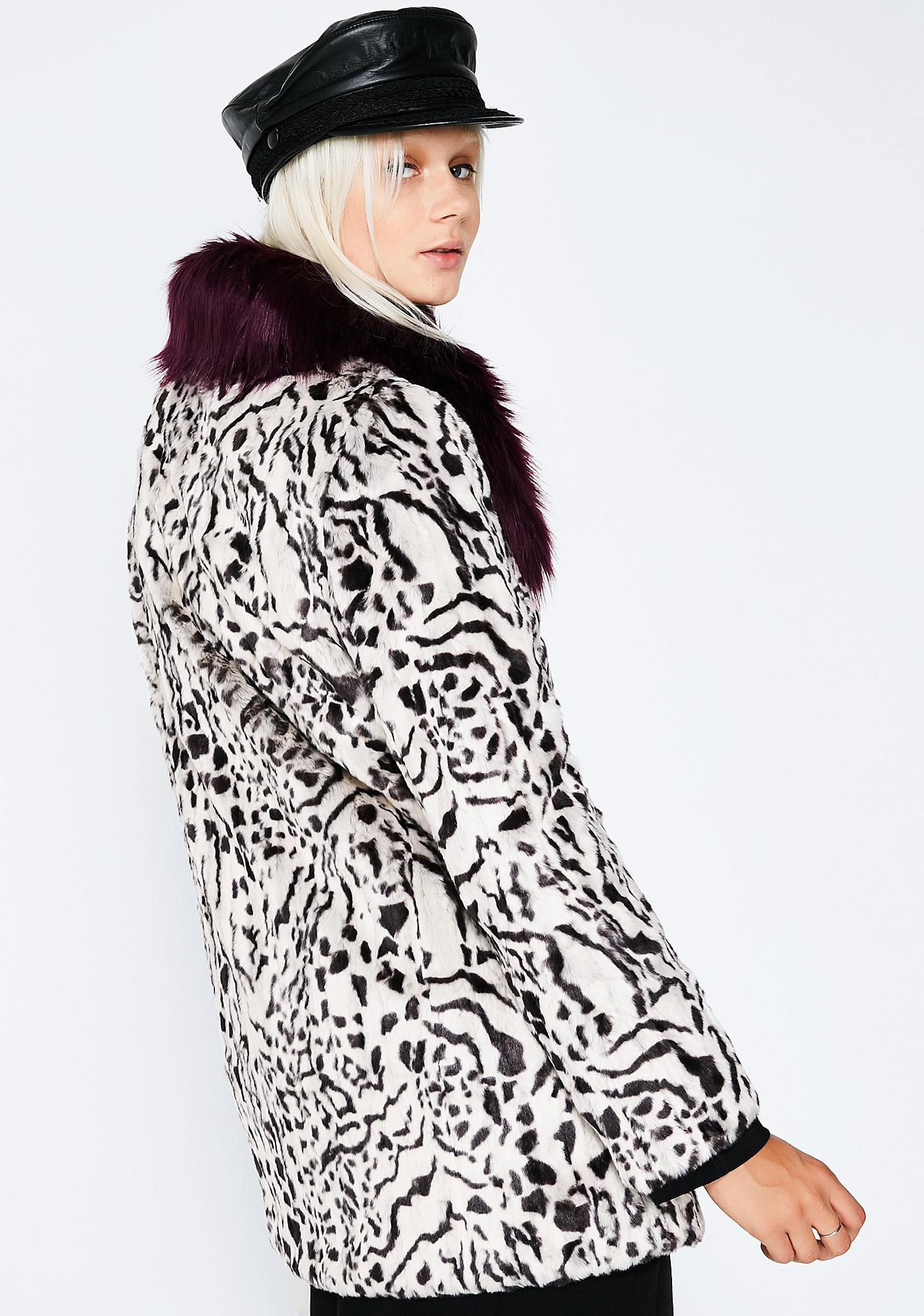 Unreal Fur Urban Jungle Coat