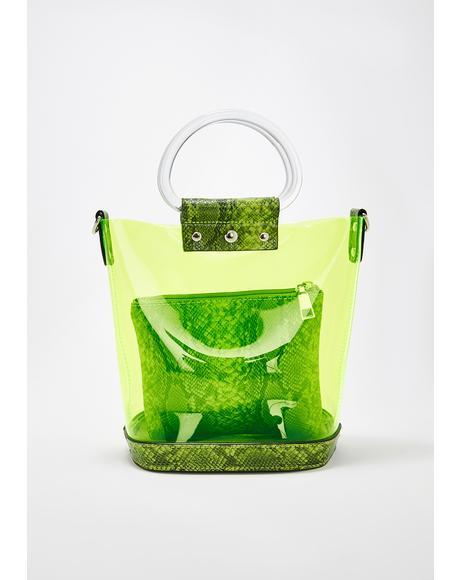 Wild Sherbet PVC Handbag