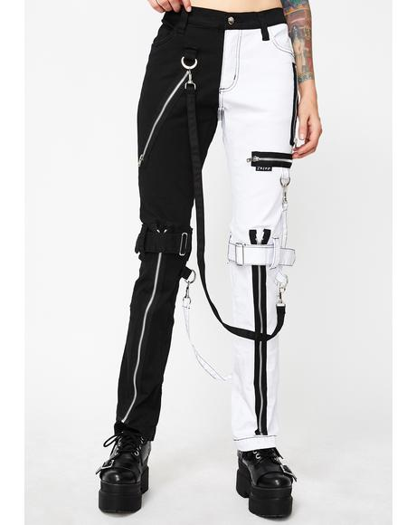 Split Leg Bondage Pants