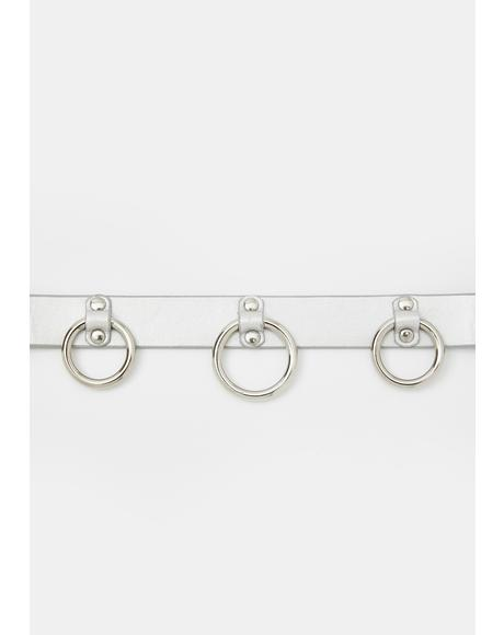 Mayhem Mistress O-Ring Choker