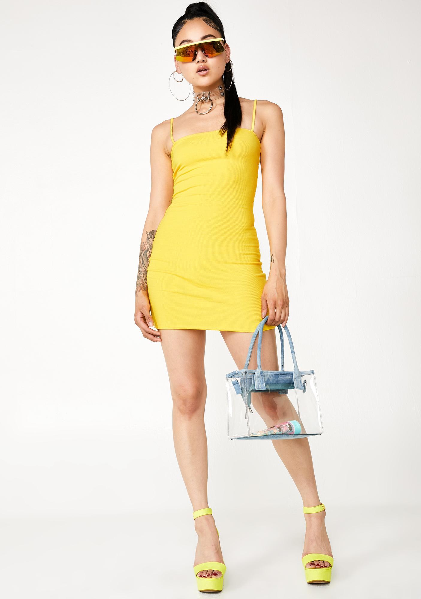 Zesty It Gurl Mini Tank Dress
