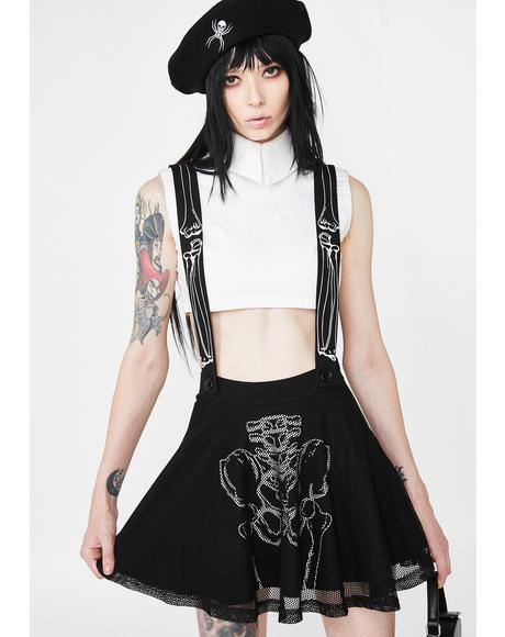 Corrupt Cutie Suspender Skirt