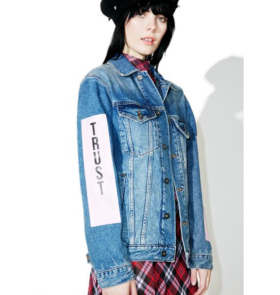 The Ragged Priest Complex Denim Jacket