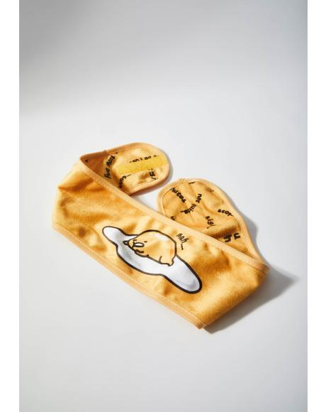 Gudetama Spa Headband
