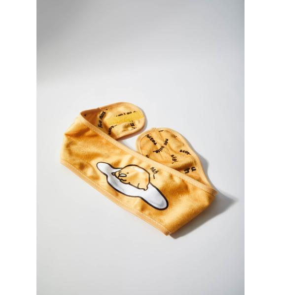 The Crème Shop Gudetama Spa Headband