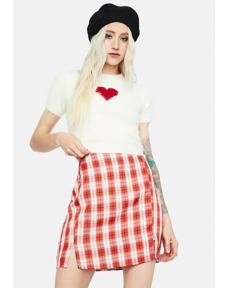 Playful in Plaid Mini Skirt