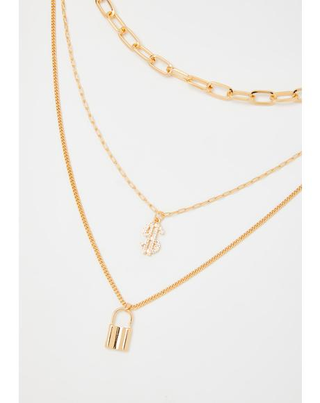 So Lucky Chain Necklace