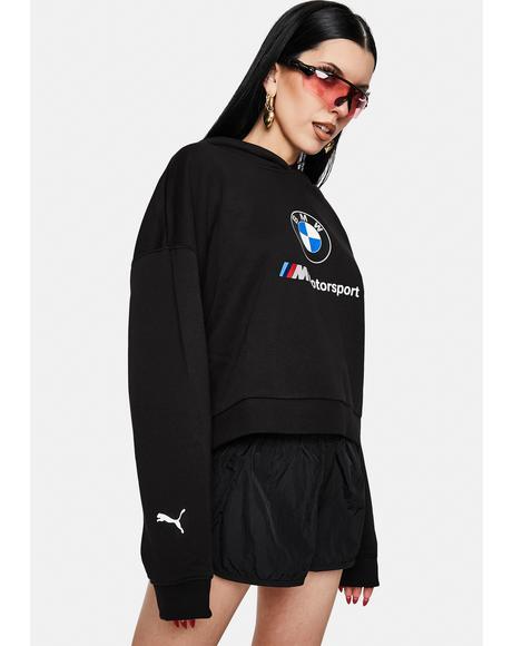 Black BMW M Motorsport Street Hoodie