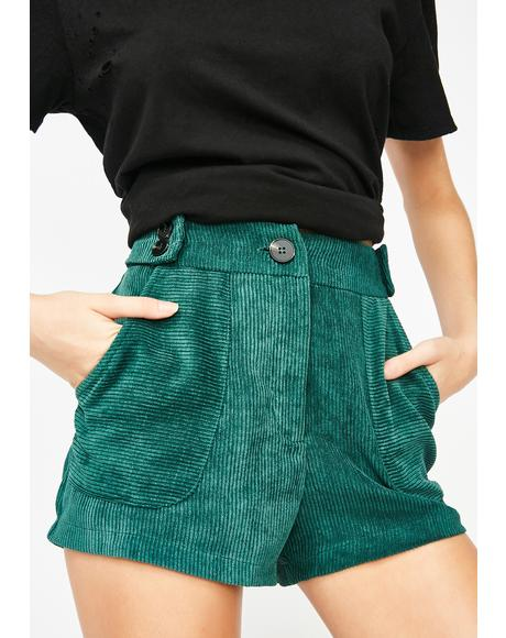Free Ride Corduroy Shorts