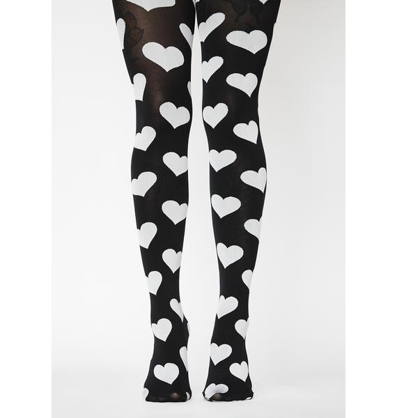 MeMoi Love's Got To Do With It Opaque Tights