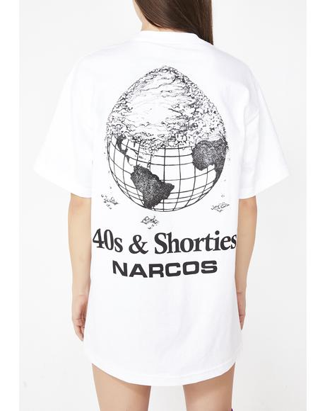 X Narcos Cover The Earth Tee