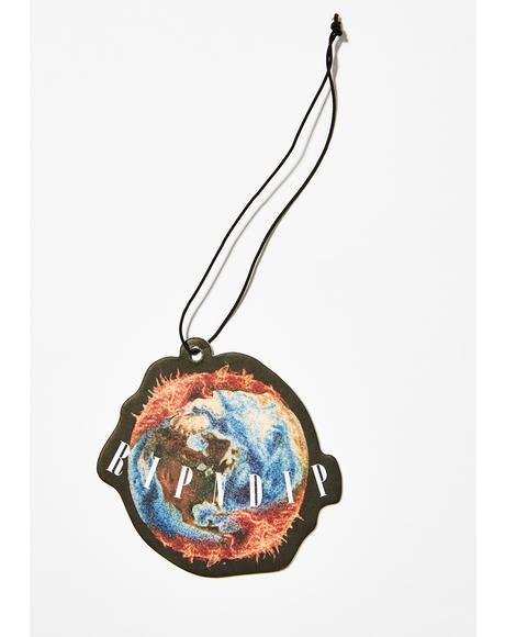 World On Fire Air Freshener