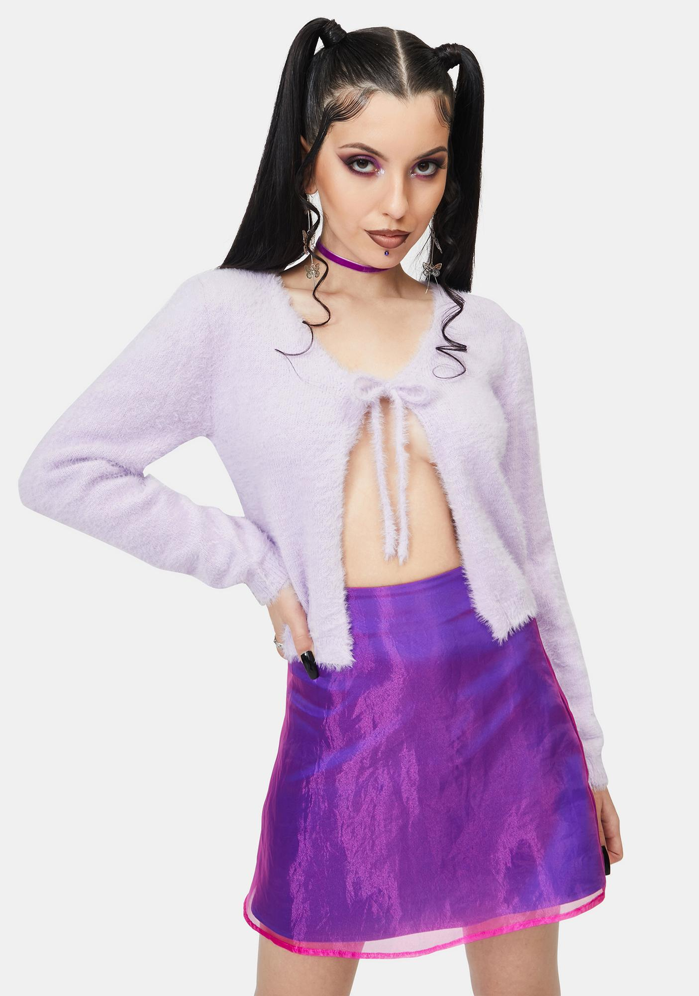 ZEMETA Lilac Dream Cardigan